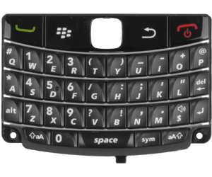 BlackBerry 9700 Bold/ 9780 Bold Keypad QWERTY Zwart